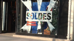 Shopping Paris : soldes à Paris